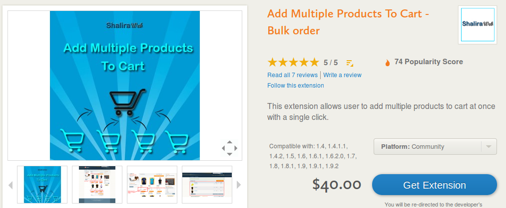 Add Multiple Products To Cart - Bulk order