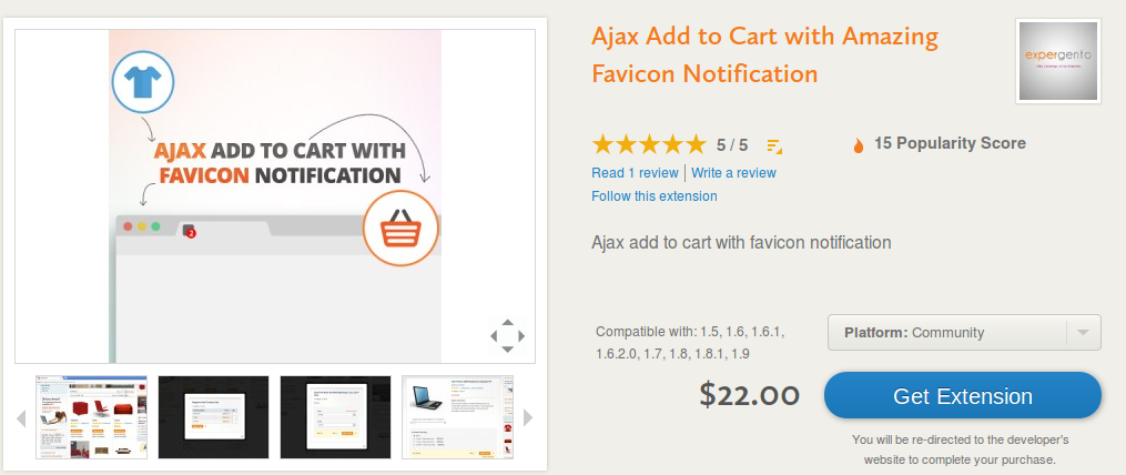 Ajax Add to Cart with Amazing Favicon Notification