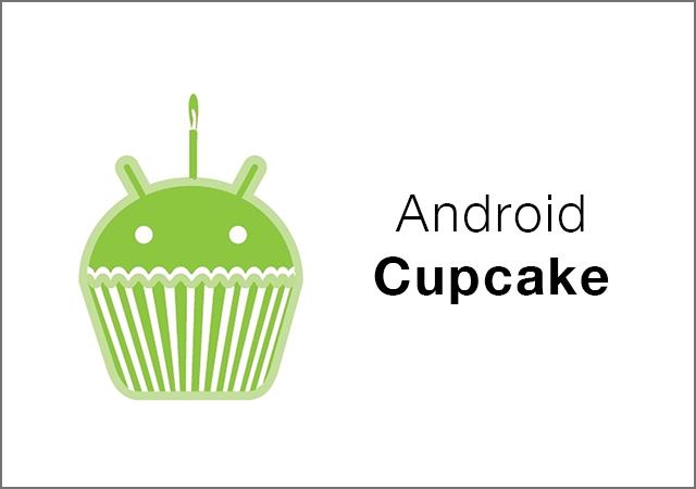 Versi Android Terbaru - Cupcake