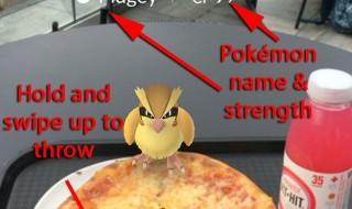 Pokemone Go screen 6