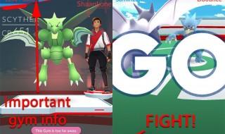 Pokemone Go screen 7