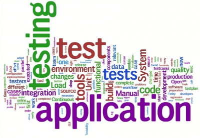 Testing of application
